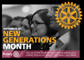 September New Generations Month