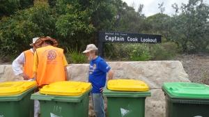Graeme at Captain Cook Lookout