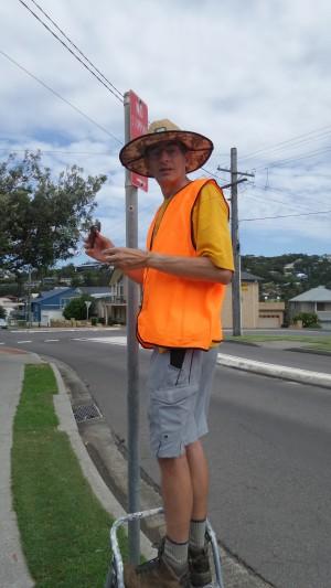 Ian Lord from Copacabana Community Association