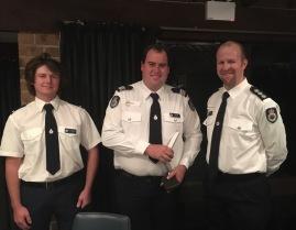 Leroy Pilkington, Joshua Ford, Jack Ardzejewski (Copacabana Rural Fire Service)