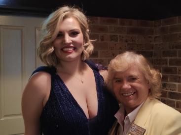 Camilla Wright and Sandy Hunt-Sharman